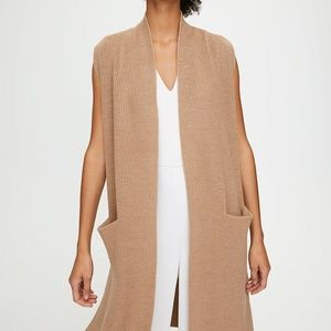 Wilfred Olivie Cardigan Long, Merino-Wool Cardigan